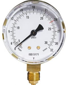 Einzelmanometer Ar/CO2